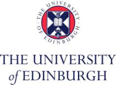 Edinburgh University logo